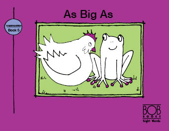 Sight Words. Kindergarten. Book 5. As Big As
