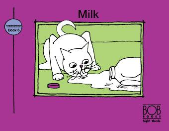 Sight Words. Kindergarten. Book 6. Milk