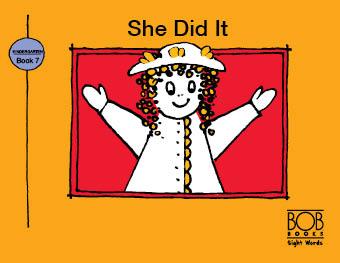 Sight Words. Kindergarten. Book 7. She Did It
