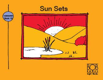 Sight Words. Kindergarten. Book 10. Sun Sets