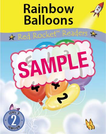 Early Level 2 : Rainbow Balloons