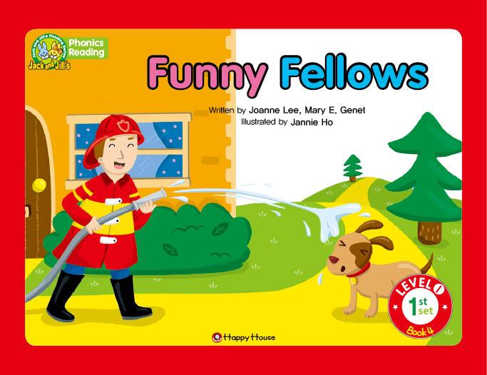 Level 1 Set1 Book4 funnyの[f]の発音を学ぼう!