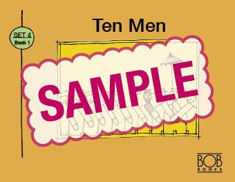Bob Books. Set 4. Complex Words. Book 1. Ten Men