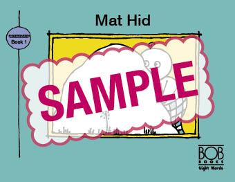 Bob Books. Sight Words. Kindergarten. Book 1. Mat Hid