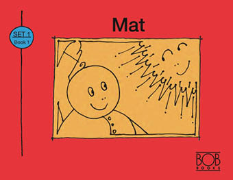 Bob Books. Set 1. Beginning Readers. Book 1. Mat.