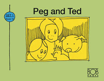 Set 1. Book 10. Peg and Ted.