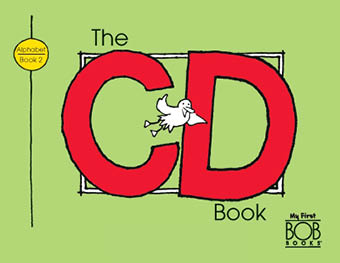 My First Bob Books. Alphabet. Book 2. The CD Book
