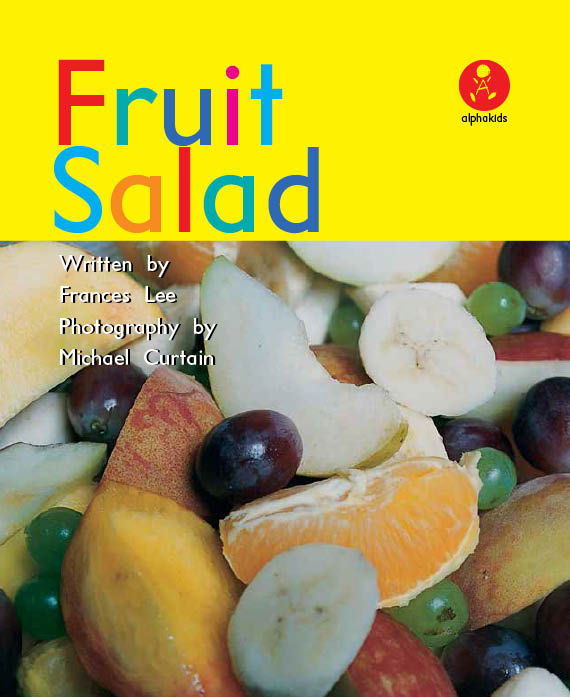 Level1 Book 3 Fruit Salad / I like...をおぼえよう