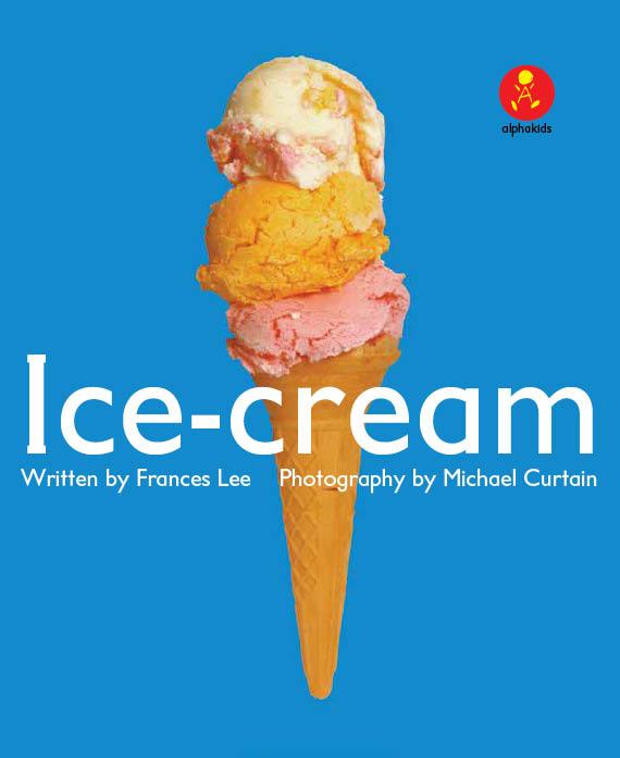 Level1 Book 5 Ice-Cream / Here is...をおぼえよう