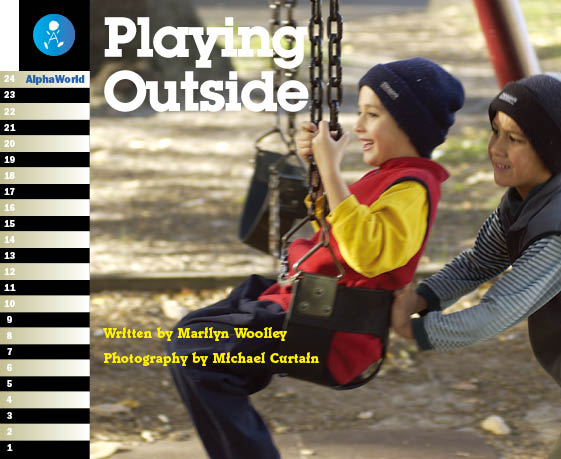 Level 1 Book 2 Playing Outside / 外あそびの表現