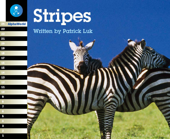 Level 1 Book 4 Stripes / Stripeがある動物は……