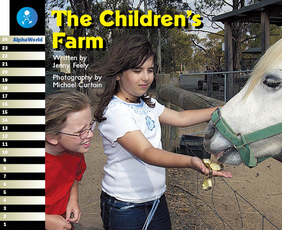 Level 13 Book 2 The Children's Farm / 牧場で体験学習