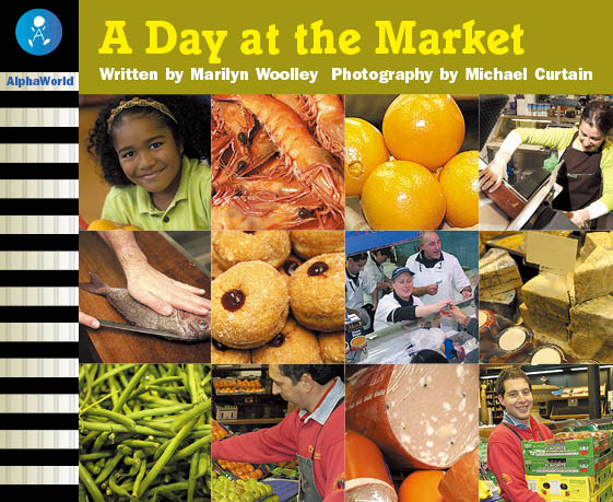 Level 14 Book 4 A Day at the Market / お父さんと市場でお買い物