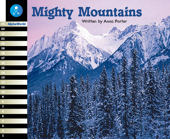 Level 15 Book 2 Mighty Mountains / 世界中のいろいろな山