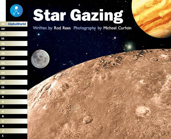 Level 18 Book 2 Star Gazing / 天文台で天体観測してみよう