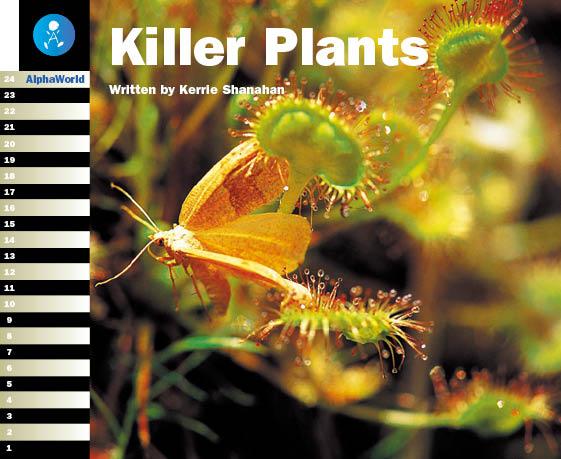 Level 18 Book 4 Killer Plants / 虫を食べる食虫植物