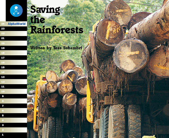 Level 20 Book 1 Saving the Rainforest / 熱帯雨林を守ろう