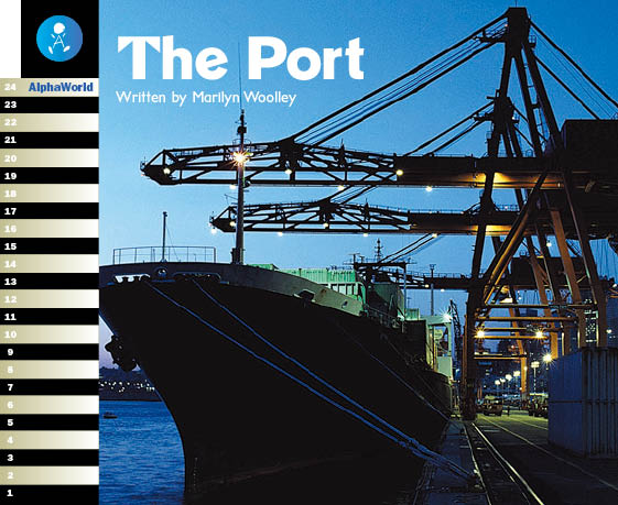Level 20 Book 2 The Port / 港の重要な役割