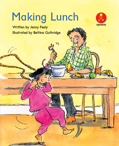 Level5 Book 4 Making Lunch/とっても忙しい子どもたち