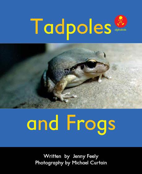 Level5 Book 6 Tadpoles and Frogs/カエルのライフサイクルを英語で表現しよう