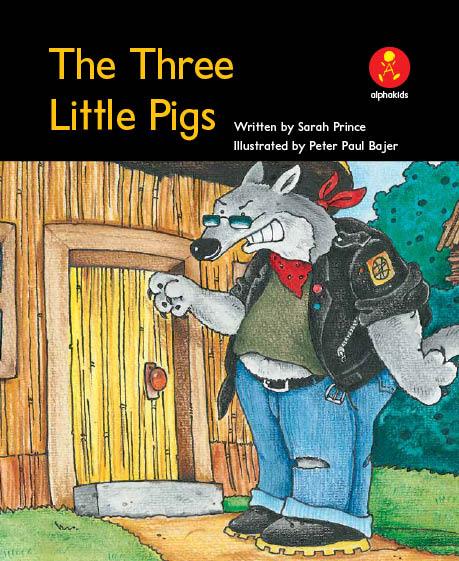 Level8 Book 5 The Three Little Pigs/3匹の子ブタ