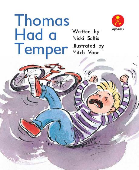 Level8 Book 6 Thomas Had a Temper/おこりんぼトーマス